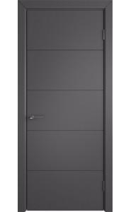 Межкомнатная дверь Trivia, цвет Graphite