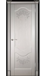 Дверь Прованс-2 ясень ваниль ДГ