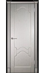 Дверь Виктория ясень ваниль ДГ