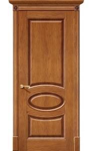 Дверь Халес Валенсия Медовый дуб Глухие