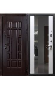 Дверь Дива МД-38 nano с Зеркалом 110мм
