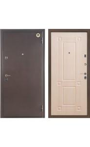 Дверь Бульдорс 24 Антик медь - Дуб беленый