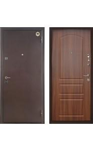 Дверь Бульдорс 24 Антик медь - Лесной орех