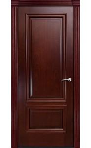 Дверь Мильяна Бристоль Премиум Красное дерево Без стекла
