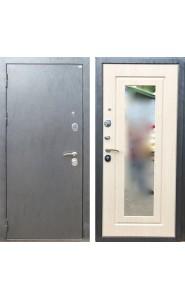 Дверь Дива МД-26 Серебро - Зеркало