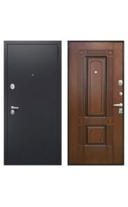 Дверь Интекрон Вавилон Черная шагрень - Вишня