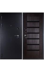 Дверь Дива МД-05 Серебро - Орех темный