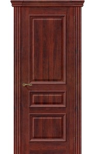 Межкомнатная дверь Вена, цвет Красное Дерево
