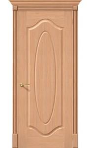Межкомнатная дверь Аура, цвет Дуб