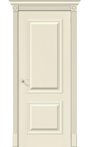 Межкомнатная дверь Вуд Классик-12, цвет Ivory