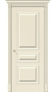 Межкомнатная дверь Вуд Классик-14, цвет Ivory