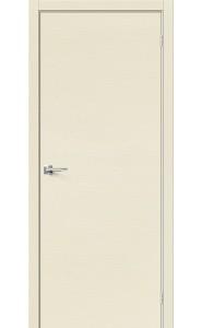 Межкомнатная дверь Вуд Флэт-0.H, цвет Ivory
