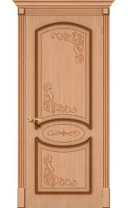 Межкомнатная дверь Азалия, цвет Дуб