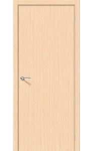 Межкомнатная дверь Соло-0.V, цвет БелДуб