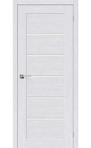 Межкомнатная дверь Легно-22, со стеклом, цвет Milk Oak