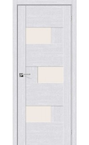 Межкомнатная дверь Легно-39, со стеклом, цвет Milk Oak