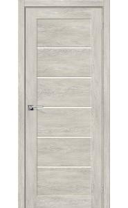 Межкомнатная дверь Легно-22, со стеклом, цвет Chalet Provence