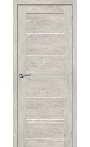 Межкомнатная дверь Легно-28, со стеклом, цвет Chalet Provence