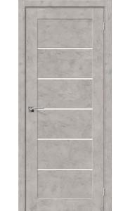 Межкомнатная дверь Легно-22, со стеклом, цвет Grey Art