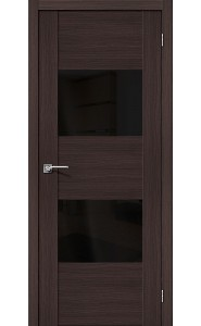 Межкомнатная дверь VG2 BS, со стеклом, цвет Wenge Veralinga