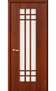 Межкомнатная дверь 16С, со стеклом, цвет ИталОрех