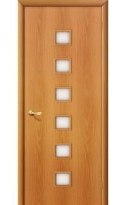 Межкомнатная дверь 1С, со стеклом, цвет МиланОрех