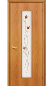 Межкомнатная дверь 22Х, со стеклом, цвет МиланОрех