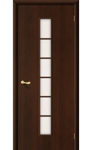 Межкомнатная дверь 2С, со стеклом, цвет Венге