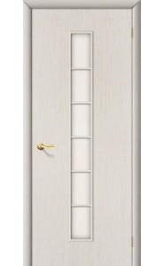 Межкомнатная дверь 2С, со стеклом, цвет БелДуб