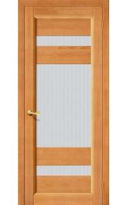 Межкомнатная дверь Вега-2 (ПО), со стеклом, цвет Светлый Орех