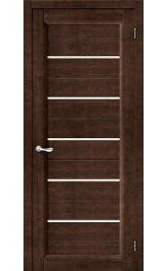 Межкомнатная дверь Тассо-3, со стеклом, цвет Венге