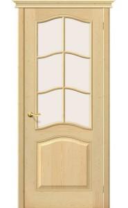 Межкомнатная дверь М7, со стеклом, цвет Без отделки
