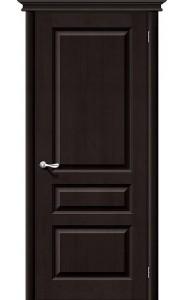 Межкомнатная дверь М5, цвет Темный Лак