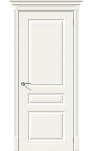 Межкомнатная дверь Скинни-14, цвет Whitey