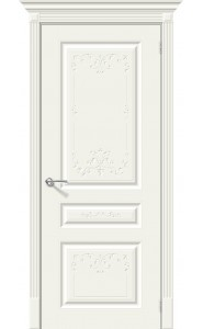 Межкомнатная дверь Скинни-14 Аrt, цвет Whitey