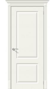 Межкомнатная дверь Скинни-12, цвет Whitey