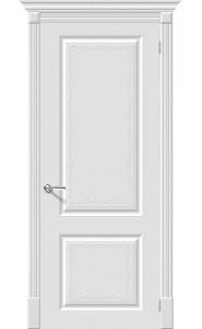 Межкомнатная дверь Скинни-12 Аrt, цвет Whitey