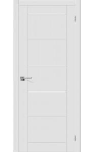 Межкомнатная дверь Скинни-4, цвет Whitey