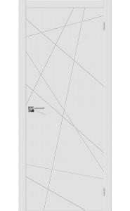 Межкомнатная дверь Скинни-5, цвет Whitey