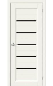 Межкомнатная дверь Скинни-51 Black Line, цвет Whitey