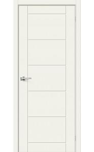 Межкомнатная дверь Граффити-4, цвет Whitey