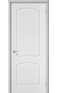 Межкомнатная дверь Альфа, цвет Белый