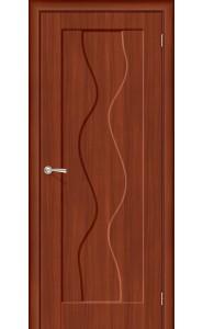 Межкомнатная дверь Вираж Плюс, цвет ИталОрех