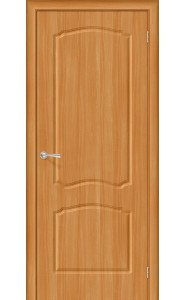Межкомнатная дверь Альфа, цвет МиланОрех