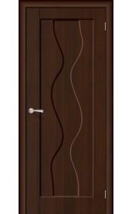 Межкомнатная дверь Вираж, цвет Венге