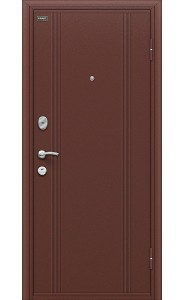 Входная дверь Door Out 201, цвет Антик Медь/Wenge Veralinga