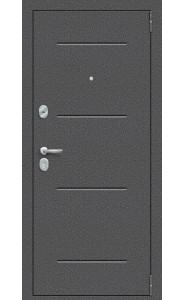 Входная дверь Porta S 104.П22, цвет Антик Серебро/Bianco Veralinga
