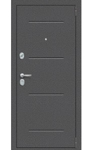 Входная дверь Porta S 104.П22, цвет Антик Серебро/Wenge Veralinga