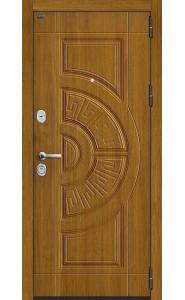 Входная дверь Р3-312, цвет Золотой Дуб/П-4 Золотой Дуб