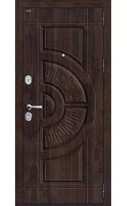 Входная дверь Р3-312, цвет Темная Вишня/П-25 Беленый Дуб